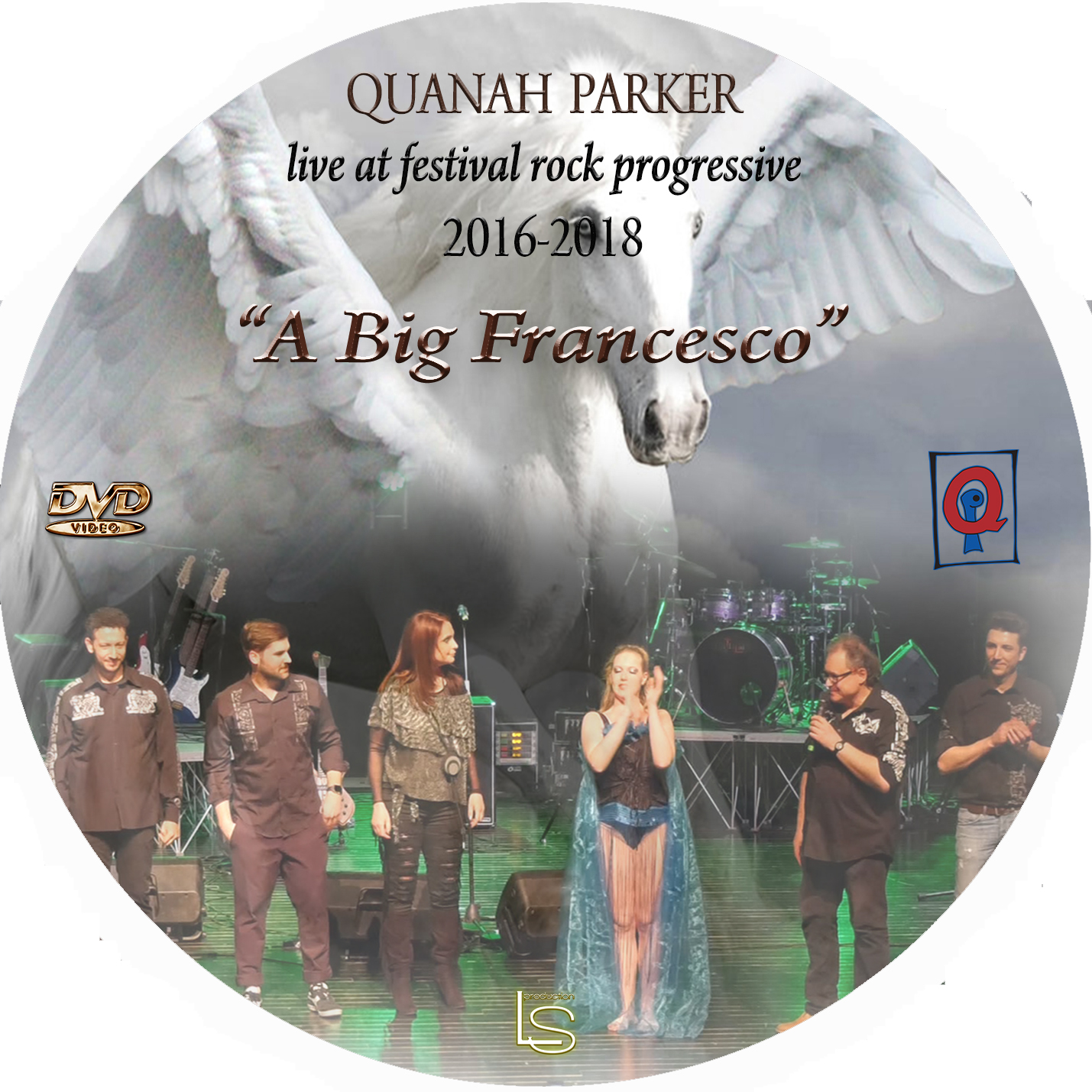 "Quanah Parker - Live at Festival Rock Progressive: ""A Big France"